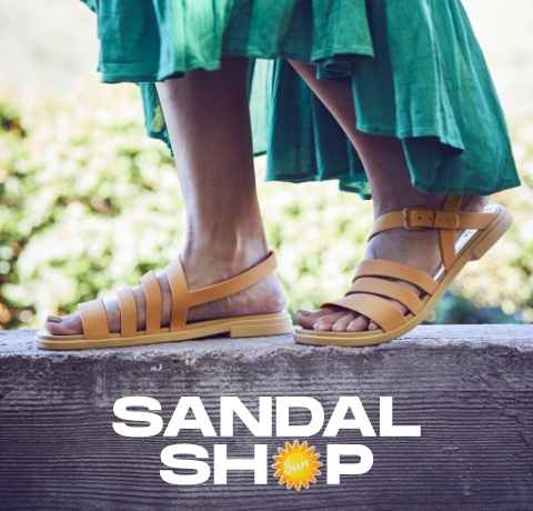 Yellow Tulum sandals.