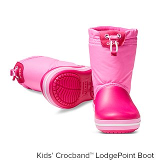 Kid's Crocband LodgePoint Boot