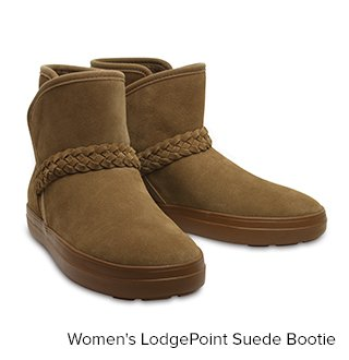 LodgePoint Suede Bootie W