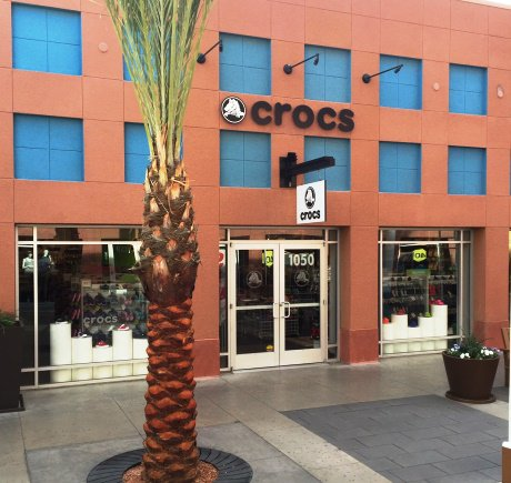 Crocs storefront. Your local Shoe Store in Las Vegas, NV.