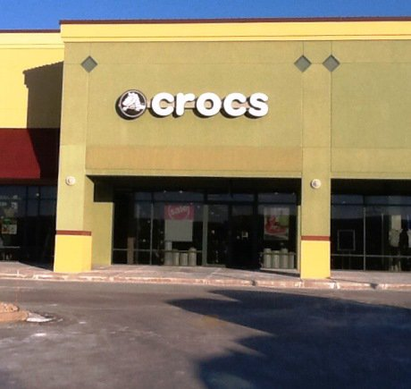 Crocs storefront. Your local Shoe Store in Johnson Creek, WI.