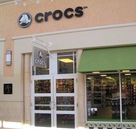 Crocs storefront. Your local Shoe Store in Orlando, FL.