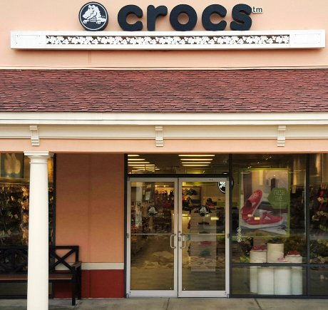 Crocs storefront. Your local Shoe Store in Dawsonville, GA.