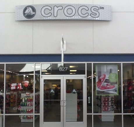 Crocs storefront. Your local Shoe Store in Tinton Falls, NJ.