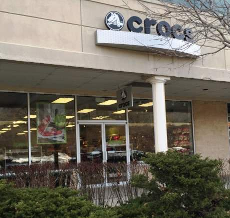 Crocs storefront. Your local Shoe Store in Tannersville, PA.