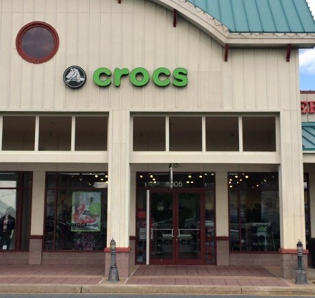 Crocs storefront. Your local Shoe Store in Rehoboth Beach, DE.
