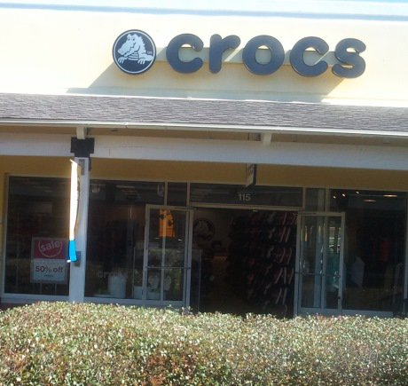 Crocs storefront. Your local Shoe Store in Gulfport, MS.