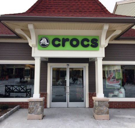 Crocs storefront. Your local Shoe Store in Central Valley, NY.