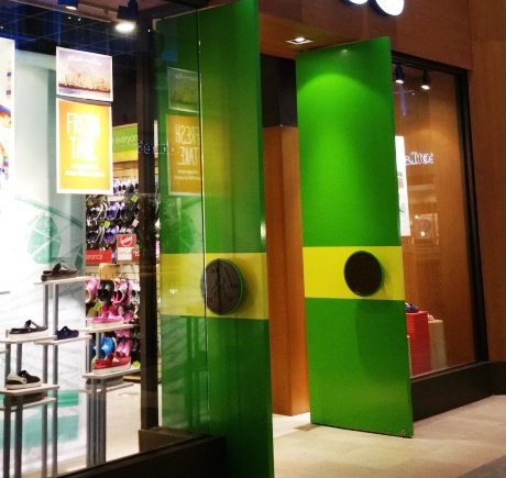 Crocs storefront. Your local Shoe Store in Durham, NC.