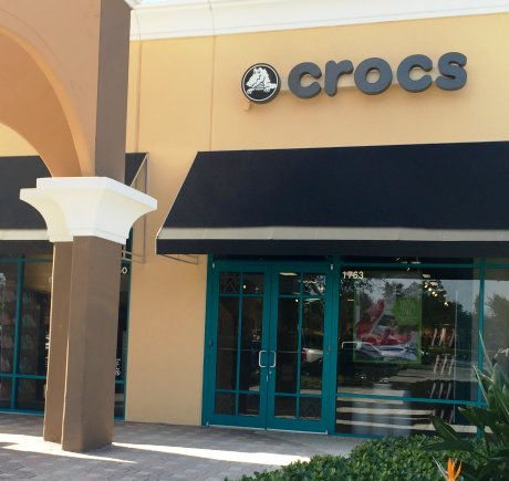 Crocs storefront. Your local Shoe Store in Vero Beach, FL.