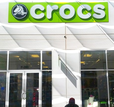 Crocs storefront. Your local Shoe Store in Calexico, CA.