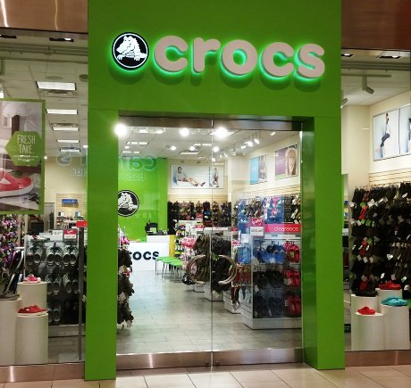 Crocs storefront. Your local Shoe Store in Rosemont, IL.