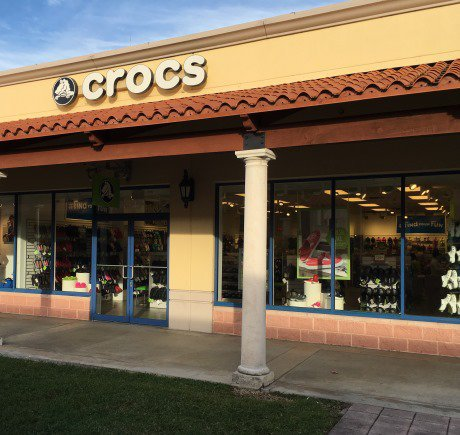 Crocs storefront. Your local Shoe Store in Homestead, FL.