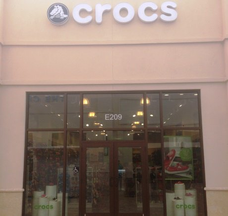 Crocs storefront. Your local Shoe Store in West Palm Beach, FL.