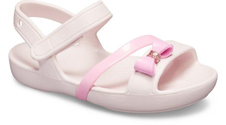 outlet Sale Kids' Crocs Lina Charm Sandal