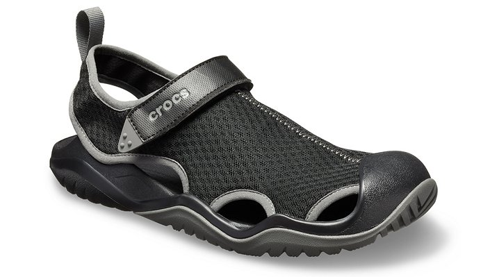 ed5efe01c93e1 Men s Swiftwater Mesh Deck Sandal - Crocs