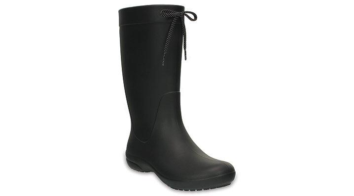 Crocs Freesail Rain Boot Laarzen Damen Black 34