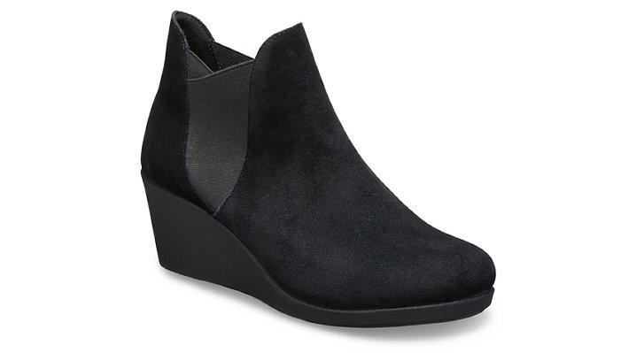 Crocs Leigh Chelsea Boot Laarzen Damen Black 36