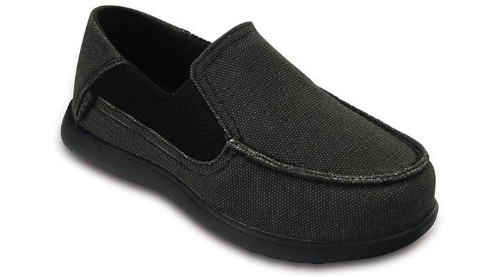 Kids' Clothing, Shoes & Accs Boys' Shoes Croc Santa Cruz Boys Sz 2 Tan Canvas Slip On Shoes