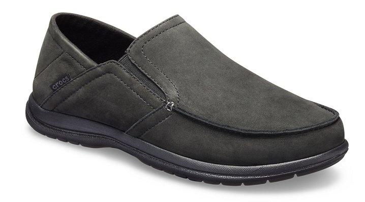 d2763129d7ce8a Men s Santa Cruz Convertible Leather Slip-On - Loafer - Crocs