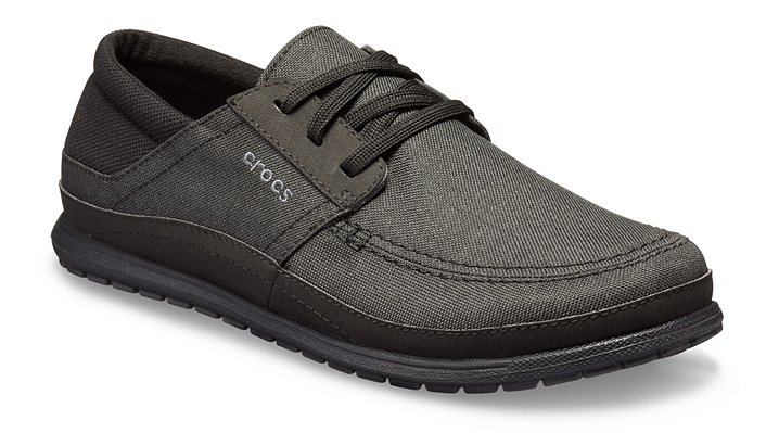Crocs Santa Cruz Playa Lace-Up Sneakers Herren Black-Black 39