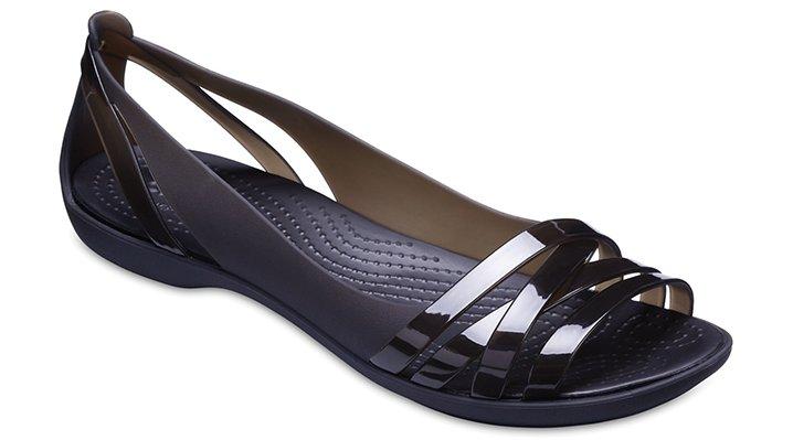 c7cb1bd9ce5 Women s Crocs Isabella Huarache II Flat - Crocs