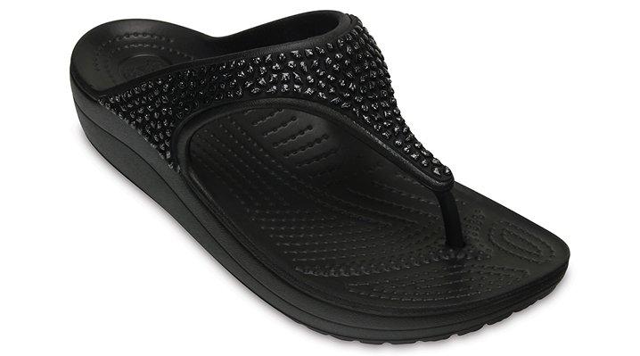 6d30b90e1059 Women s Crocs Sloane Embellished Flip - Crocs