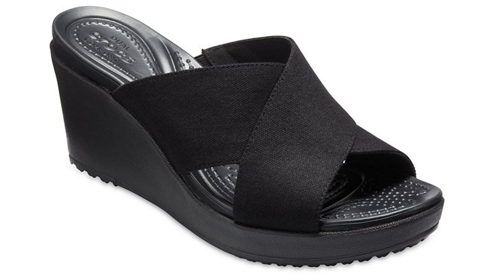 4c03d87d17e8 Women s Leigh II Cross-Strap Wedge - Crocs