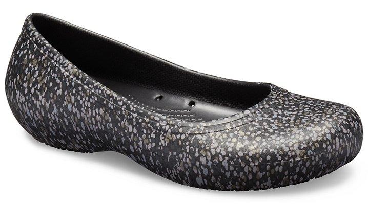 4d55a0abff1b Women s Crocs At Work™ Graphic Flat - Crocs