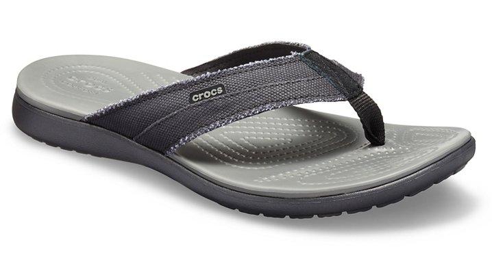 6d92d791cc53 Men s Santa Cruz Canvas Flip - Crocs