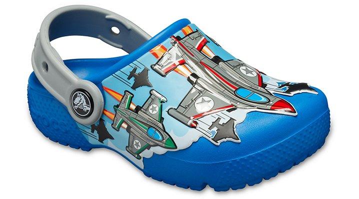 Crocs Fun Lab Fighter Jets Klompen Kinder Bright Cobalt 19