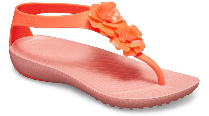 outlet Sale Women's Crocs Serena Embellished Flip