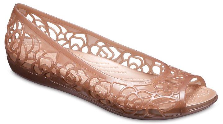 524175c44 Women s Crocs Isabella Jelly Flat - Crocs