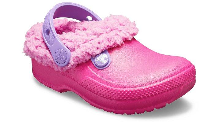 Crocs Classic Blitzen III Lined Klompen Kinder Candy Pink-Party Pink 22