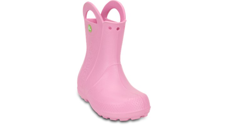 Crocs Handle It Rain Boot Laarzen Kinder Carnation 24
