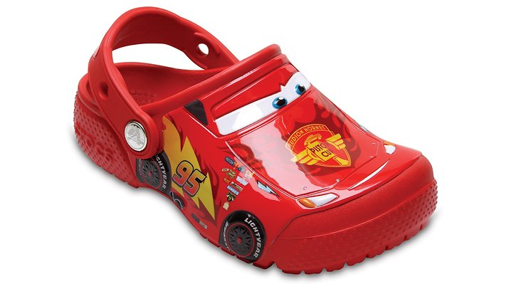 Crocs Fun Lab Disney and Pixar Cars Klompen Kinder Flame 19
