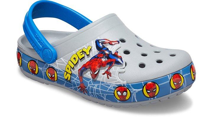 Kids' Crocs Fun Lab Spider-Man Lights