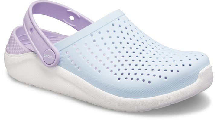 Equal Parts Science And MagicLiteRide™ — the next generation of comfort and style from Crocs — is now available in a clog for kids! Already a smash hit with adults, these clogs feature LiteRide™ foam footbeds inside, the next breakthrough in world-class comfort. Kids will love the easy-to-wear, all-day-comfortable cushioning as they bounce from school to weekend outings with style to spare.  Kids' LiteRide™ Clog Details:    Athletically inspired for their on-the-go lifestyle  Next-generation LiteRide™ foam insoles are supersoft, incredibly lightweight and extraordinarily resilient  Soft, flexible Matlite™ uppers feel broken-in from day one  Croslite™ backstrap offers a secure fit and holes to customize with Jibbitz™ charms  Durable Croslite™ foam outsoles provide all-day support and comfort  Perfect for playtime, weekend relaxation and water-friendly activities  LiteRide™: Revolutionary. Sink-in softness. Innovative comfort.