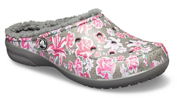72ae3859c Women s Crocs Freesail Graphic Fuzz-Lined Clog - Crocs