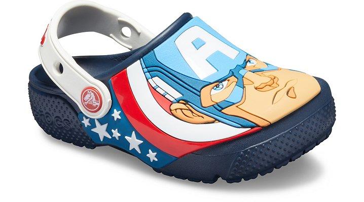 outlet Sale Kids' Crocs Fun Lab Captain America Clog