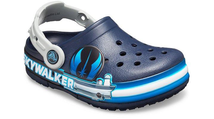 Crocs Fun Lab Luke Skywalker Lights Klompen Kinder Navy 22