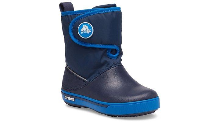 Crocs Crocband™ II.5 Gust Boot Laarzen Kinder Navy-Bright Cobalt 22