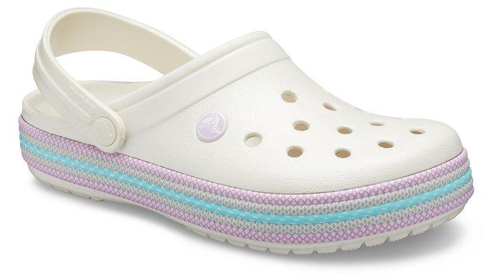 Crocs Kid's Crocband Sport Cord Clog Sandals Oyster | C11 (US)
