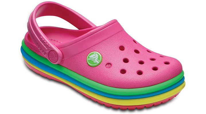 4680bfa442cb Kids  Crocband™ Rainbow Band Clog - Crocs