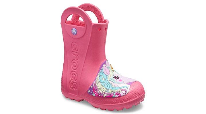 Kids' Crocs Fun Lab Creature Rain Boot | Tuggl
