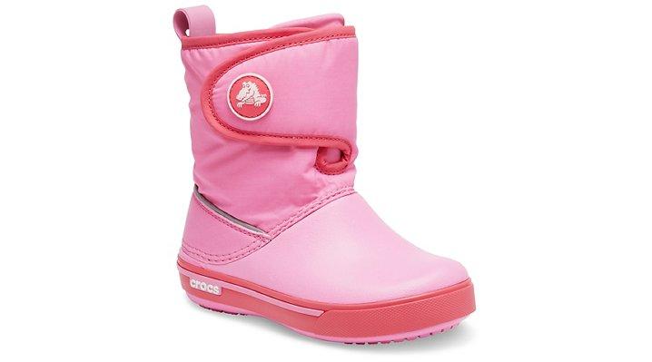 Crocs Crocband™ II.5 Gust Boot Laarzen Kinder Pink Lemonade-Poppy 23