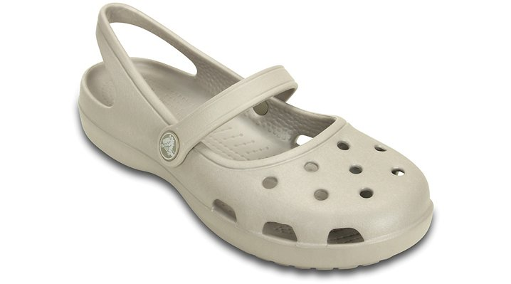 Crocs Shayna Mary Jane Schoenen Damen Platinum 36