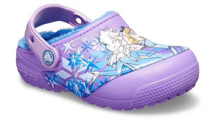 Kids' Crocs Fun Lab Lined Frozen Clog | Tuggl