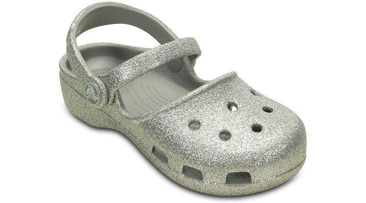8ddf4b65e Girls  Crocs Karin Sparkle Clog - Crocs