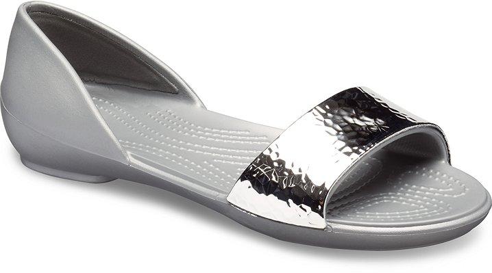 8b9b48b5e Women s Crocs Lina Embellished D Orsay Flat - Crocs